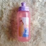 พร้อมส่งค่ะ ขวดน้ำดื่ม Princess แบบดึงฝา เปิด-ปิด