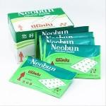Neobun menthol plaster นีโอบัน พลาสเตอร์บรรเทาปวด (ซอง)