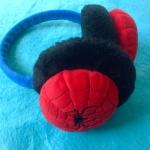 พร้อมส่งค่ะ ที่ครอบหู Spiderman สามารถปรับขนาดได้