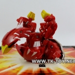 (บาคุกัน) Bakugan Baku-Tech Flame Aigle BTC-34