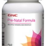 GNC Pre Natal Formula จีเอ็นซี พรีเนตัล ฟอร์มูล่า 120 Tablets Code: 494411 เลขทะเบียน อย. 2C 64/44