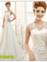 พรีออเดอร์ ชุดแต่งงาน/wedding dress แบบยาว มีไซด์ XS/S/M/L/XL/XXL/XXXL