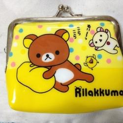 กระเป๋าใส่เศษสตางค์ แบบแป็ก ริลัคคุมะ Rilakkuma