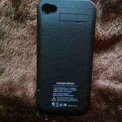 Powerbank caseiphone4/4s 3000mAh