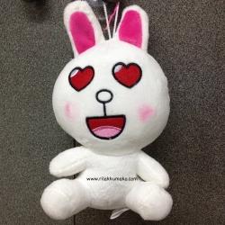 [ลดราคา]ตุ๊กตาไลน์ Line Character: Cony กระต่าย โคนี่ ขนาด 20cm in love #5