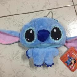กระเป๋าใส่เศษสตางค์ 1 ช่อง ลายสติช Stitch