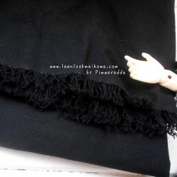 ผ้าพื้นคอตตอนเนื้อหยาบไม่บางค่ะ (1/2 m)