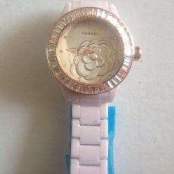 นาฬิกาข้อมือ Chanel J12 Flower Limited Edition 2013 คริสตัล ชมพู