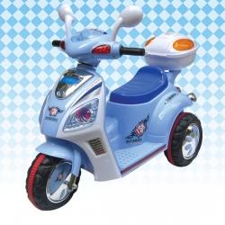 รถแบตเตอรี่ HD6835 Fino รุ่นใหม่ สีฟ้า