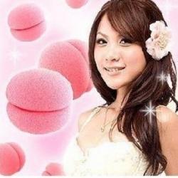 ลูกบอลม้วนผม สีชมพู (1แพ็ค มี3ลูก) (สั่งซื้อ6แพ็ค เหลือแพ็คละ 55บาท)
