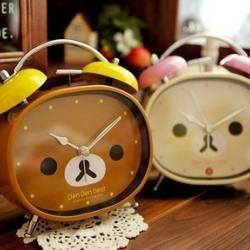 นาฬิกาปลุกน้องหมี Alarm Clock Rilakkuma(หมีน้ำตาล) และ Korilakkuma(หมีสีครีม)