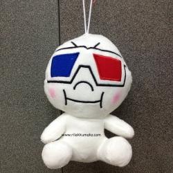 [ลดราคา]ตุ๊กตาไลน์ Line Character: Moon มูน ขนาด 20cm สวมแว่นตา เท่มว๊าก #2