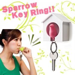 ที่แขวนกุญแจบ้านนก Sparrow Key Ring (ราคาส่ง 6ชิ้น เหลือชิ้นละ 80บาท)