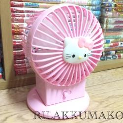 พัดลมลาย คิตตี้ Hello Kitty ตั้งโต๊ะหรือพกพา