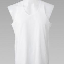 เสื้อกล้าม ตราห่านคู่ Double Goose สีขาว