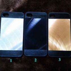 case iphone 4/4s หลังอลูมิเนียม