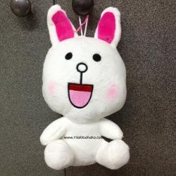 [ลดราคา]ตุ๊กตาไลน์ Line Character: Cony กระต่าย โคนี่ ขนาด 20cm ยิ้มแฉ่ง #4