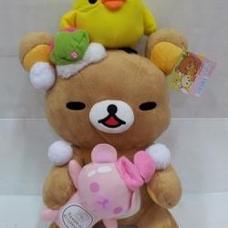 ตุ๊กตา ริลัคคุมะ rilakkuma ชุดอาบน้ำ ขนาด 14นิ้ว #4