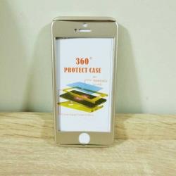 เคสไอโฟน 5/5S/SE ประกบ สีทอง