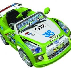 รถแบตเตอรี่ HD6788 Nissan Skyline แต่งลายรถแข่ง สีเขียว