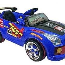 รถแบตเตอรี่ HD6788 Nissan Skyline แต่งลายรถแข่ง สีน้ำเงิน