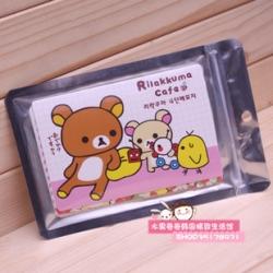 Postcard โปสการ์ด 1แพ็ค มี18ใบ คละลาย Rilakkuma