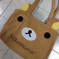 กระเป๋า ริลัคคุมะ Rilakkuma ขนาด 15x10 นิ้ว