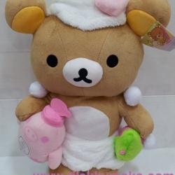 ตุ๊กตา ริลัคคุมะ rilakkuma ชุดอาบน้ำ ขนาด 16นิ้ว #3