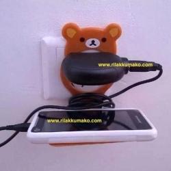 แท่นวางมือถือ ลายหมี ริลัคคุมะ Rilakkuma สำหรับวางโทรศัพท์ตอนชาร์จ