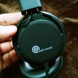 หูฟัง พร้อมไม Sonic sound