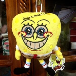 ตุ๊กตา spongebob สปองบ็อบ มีจุ๊บติดกระจก ขนาด 6 นิ้ว