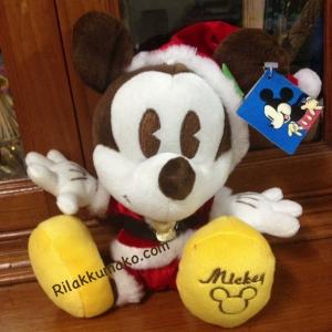 ตุ๊กตา มิกกี้เมาส์ Mickey mouse ชุดซานต้า ขนาด 8นิ้ว