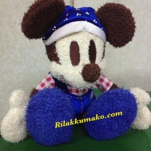 ตุ๊กตามิกกี้เมาส์ Mickey Mouse ใส่ชุดเอี๊ยม ขนาดสูง 16นิ้ว