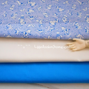 ผ้าcotton สั่งจาก USA 27x45 cm +ผ้าพื้น cotton 2 ชิ้น ขนาด 27x50cm หาในไทย สั่งหลายจำนวนผ้าต่อกันค่ะไม่ตัดแยกค่ะ