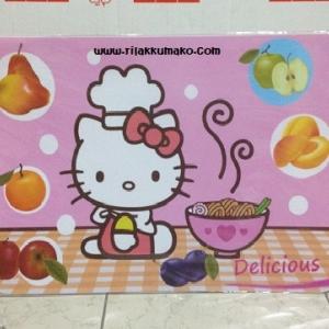 แผ่นรองจาน ลาย คิตตี้ Hello Kitty