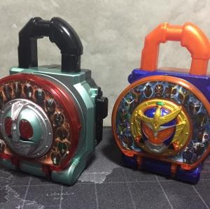 Kamen Rider Gaim DX Lock Seed Kamen Rider Taisen Set (โซวะ,เฮเซย์)