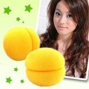 ลูกบอลม้วนผม สีเหลือง (1แพ็ค มี3ลูก) (สั่งซื้อ6แพ็ค เหลือแพ็คละ 50บาท)