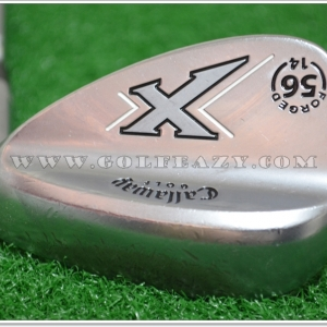 CALLAWAY X-FORGED CHROME 56* SAND SW FLEX WEDGE