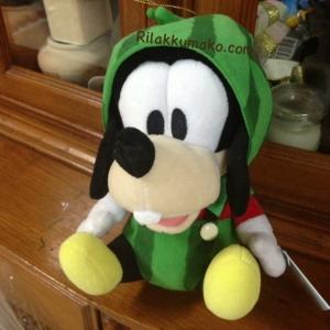 ตุ๊กตา กูฟฟี่ Goofy ใส่ชุดแตงโม ขนาด 6นิ้ว