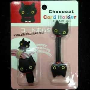 ที่พันสายไฟ ลายแมวดำ Kutsushita