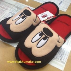 รองเท้าใส่เดินในบ้าน ขนาด Freesize ลาย Mickey Mouse มิกกี้เมาส์
