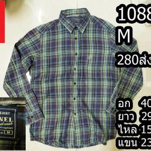 เสื้อเชิ้ตuniqlo เสื้อเชิ้ตชาย Size M (No.1088)
