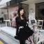 Chu ViVi เดรสแฟชั่นแขนยาวผ้านิตติ้งเนื้อนิ่ม thumbnail 1
