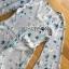 เพลย์สูทขาสั้นผ้าโพลีเอสเตอร์พิมพ์ลายดอกไม้ thumbnail 6