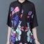 เสื้อทีเชิ้ตพิมพ์ลายผีเสื้อดอกไม้ thumbnail 6