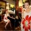เดรสแฟชั่นพิมพ์ลายดอกไม้ดอกใหญ่หน้า-หลังมีสายรูดปรับช่วงเอวเข้ารูปค่ะ thumbnail 6
