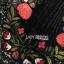 เดรสผ้าทวิตสีดำปักลายดอกไม้ thumbnail 5
