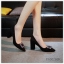 (พร้อมส่ง) รองเท้าคัทชู ส้นสูง แฟชั่น ราคาถูก มีไซด์ 37
