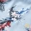 ชุดเซท เสื้อ+กระโปรงโทนฟ้าลายดอกไม้ thumbnail 3
