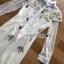 เดรสยาวออกงานผ้าลูกไม้ปักลายสไตล์ sretsisแนวหวานแบบเจ้าหญิง thumbnail 8